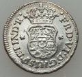 Mexico, Mexico: A Quartet of Pillar Issues 1745-67,... (Total: 4 coins)