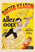 "Movie Posters:Comedy, Allez Oop (Educational, 1934). One Sheet (27.5"" X 41""). RitzTheater Collection.. ..."