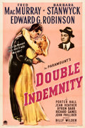 "Movie Posters:Film Noir, Double Indemnity (Paramount, 1944). One Sheet (27"" X 41"").. ..."