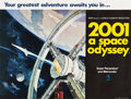 "Movie Posters:Science Fiction, 2001: A Space Odyssey (MGM, 1968). British Quad (30"" X 40"") StyleA.. ..."