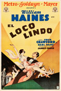 "Movie Posters:Sports, The Duke Steps Out (MGM, 1929). Argentinean Poster (29"" X 43""). Sports.. ..."