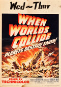 """Movie Posters:Science Fiction, When Worlds Collide (Paramount, 1951). Trimmed Window Card (14"""" X20"""").. ..."""