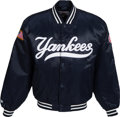 Baseball Collectibles:Others, 2005 Bobby Murcer New York Yankees Jacket Worn at the Macy'sThanksgiving Day Parade.. ...