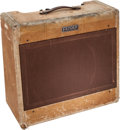 Musical Instruments:Amplifiers, PA, & Effects, 1953 Fender Pro Amp Tweed Guitar Amplifier, Serial # 1891....