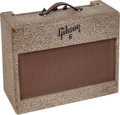 Musical Instruments:Amplifiers, PA, & Effects, 1955 Gibson GA-6 Speckled Guitar Amplifier, Serial # 23491....