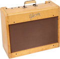 Musical Instruments:Amplifiers, PA, & Effects, 1959 Gibson GA-9 Tweed Guitar Amplifier, Serial # 16785....
