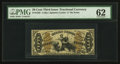 Fractional Currency:Third Issue, Fr. 1365 50¢ Third Issue Justice PMG Uncirculated 62.. ...