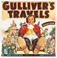 "Gulliver's Travels (Paramount, 1939). Six Sheet (79"" X 81"")"