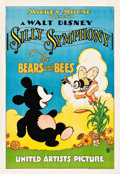 "Movie Posters:Animation, The Bears and Bees (United Artists, 1932). One Sheet (27"" X 41"").. ..."