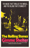 "Movie Posters:Rock and Roll, Gimme Shelter (20th Century Fox, 1970). One Sheet (27"" X 41.5"")....."