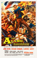 """Movie Posters:Western, The Alamo (United Artists, 1960). One Sheet (27"""" X 41"""").. ..."""