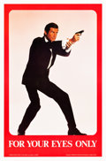 "Movie Posters:James Bond, For Your Eyes Only (United Artists, 1981). One Sheets (4) (27"" X41"").. ... (Total: 4 Items)"