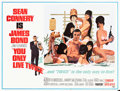 "Movie Posters:James Bond, You Only Live Twice (United Artists, 1967). Subway (45"" X 59.5"")Style C.. ..."