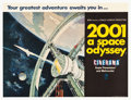 "Movie Posters:Science Fiction, 2001: A Space Odyssey (MGM, 1968). British Quad (30"" X 40"")Cinerama Style.. ..."