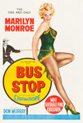 "Movie Posters:Drama, Bus Stop (20th Century Fox, 1956). Australian One Sheet (27"" X40"").. ..."