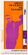 "Movie Posters:Crime, Bullitt (Warner Brothers, 1968). Three Sheet (41"" X 81"").. ..."