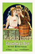 "Movie Posters:Comedy, Grandma's Boy (Associated Exhibitors, 1922). One Sheet (27"" X41"").. ..."