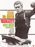 "Movie Posters:Crime, Bullitt (Warner Brothers, R-1970). French Grande (46"" X 62"").. ..."