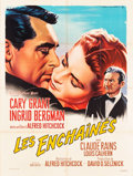 "Movie Posters:Hitchcock, Notorious (MGM, R-1963). French Grande (47"" X 63"") Roger SoubieArtwork.. ..."