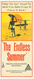 """Movie Posters:Sports, The Endless Summer (Columbia, 1966). Australian Daybill (13"""" X 30"""").. ..."""