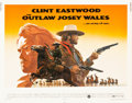 "Movie Posters:Western, The Outlaw Josey Wales (Warner Brothers, 1976). Half Sheet (22"" X 28"").. ..."