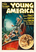 """Movie Posters:Drama, Young America (Fox, 1932). One Sheet (28"""" X 41"""").. ..."""