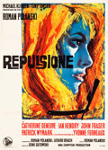 "Movie Posters:Drama, Repulsion (Dear,1966). Italian 2 - Fogli (39.5"" X 55"").. ..."