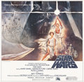 "Movie Posters:Science Fiction, Star Wars (20th Century Fox, 1977). International Six Sheet (81"" X81"") Tom Jung Artwork.. ..."