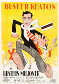 "Movie Posters:Comedy, Seven Chances (Metro Goldwyn, 1925). Swedish One Sheet (28"" X 39.5"").. ..."