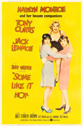"""Movie Posters:Comedy, Some Like It Hot (United Artists, 1959). MP Graded Poster (40"""" X 60"""") Style Y.. ..."""