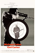 """Movie Posters:Crime, Get Carter (MGM, 1971). MP Graded Poster (40"""" X 60"""").. ..."""