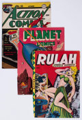 Golden Age (1938-1955):Miscellaneous, Comic Books - Assorted Partial Golden Age Comics Group of 45 (Various Publishers, 1940s-50s) Condition: Incomplete.... (Total: 45 Comic Books)