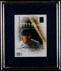 Baseball Collectibles:Publications, Ted Williams Signed Sports Illustrated Magazine....