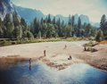Photographs:20th Century, Stephen Shore (American, b. 1947). Merced River, YosemiteNational Park, 1979. Color coupler. 7-3/4 x 9-3/4 inches(19.7...