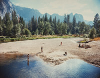 Stephen Shore (American, b. 1947) Merced River, Yosemite National Park, 1979 Color coupler 7-3/4