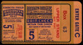 Baseball Collectibles:Tickets, 1947 World Series Game 5 Ticket Stub....