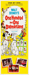 "Movie Posters:Animation, 101 Dalmatians (Buena Vista, 1961). Insert (14"" X 36"").. ..."