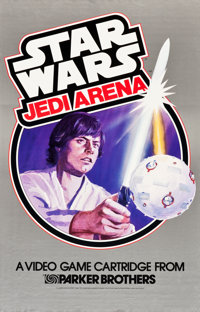 "Star Wars (Parker Brothers, 1982 & 1983). Video Game Posters (2) (23"" X 36""). ... (Total: 2 Items)"