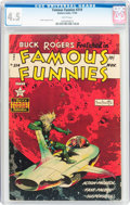Golden Age (1938-1955):Science Fiction, Famous Funnies #214 (Eastern Color, 1954) CGC VG+ 4.5 Whitepages....