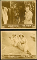 Movie Posters:Miscellaneous, Rudolph Valentino Lot (Paramount, 1920s and United Artists, 1925& 1926). British Front of House Photos (18) and Photos (35...(Total: 53 Items)