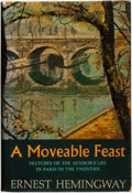 Books:Fiction, Ernest Hemingway. A Moveable Feast. New York: CharlesScribner's Sons, [1964]....