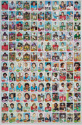 Football Cards:Sets, 1976 Topps Football Uncut Sheets With One Featuring Payton RC (2). ...