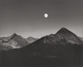 Photographs, Ansel Adams (American, 1902-1984). Moonrise from Glacier Point, 1939. Gelatin silver, circa 1965. 7-3/8 x 9-1/2 inches (...