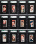 "Non-Sport Cards:Sets, 1936 Carreras ""Film Stars"" SGC Graded Complete Set (50). ..."