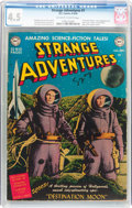 Golden Age (1938-1955):Science Fiction, Strange Adventures #1 (DC, 1950) CGC VG+ 4.5 Off-white to whitepages....
