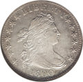 Early Dimes: , 1800 10C AU58 NGC. JR-1, R.4. An earlier die state with the usuallarge die crack from the second feather of the left (faci...