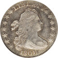 Early Dimes: , 1801 10C XF40 PCGS. JR-1, R.4. The JR-1 is the more frequentlyencountered of the two varieties from this year, constitutin...