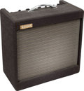 Musical Instruments:Amplifiers, PA, & Effects, Circa 1962 Flot-A-Tone Model 600 Black Guitar Amplifier....
