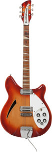 Musical Instruments:Electric Guitars, 1967 Rickenbacker 365 Fireglo Semi-Hollow Body Electric Guitar,Serial # FL4319....