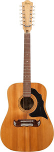 Musical Instruments:Acoustic Guitars, Circa 1966 Framus Texan Natural 12-String Acoustic Guitar, Serial #47004....